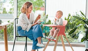 Alimentación para bebés de 4 a 6 meses