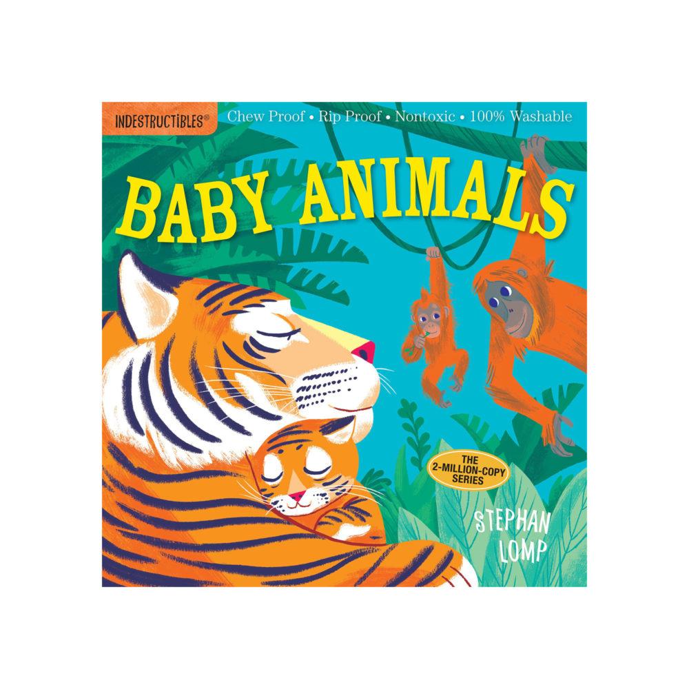 LIBRO - INDESTRUCTIBLES BABY ANIMALS