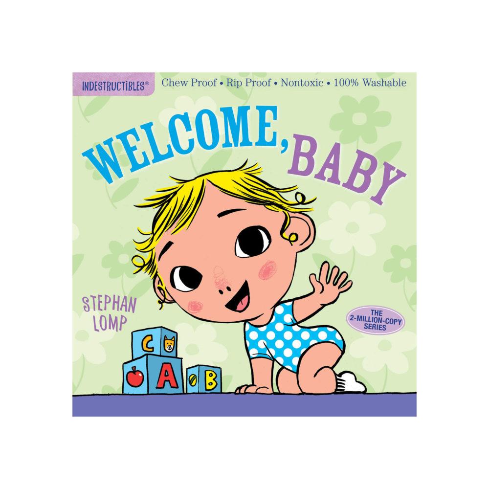LIBRO - INDESTRUCTIBLES WELCOME BABY