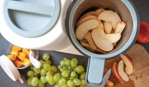 Papilla de Uva, Mango y Manzana