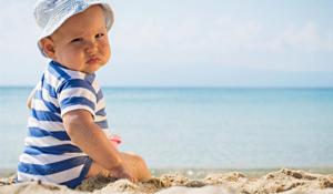 Golpes de calor: ¡cuidado con los menores de un año!