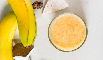 Pure de Plátano y Coco