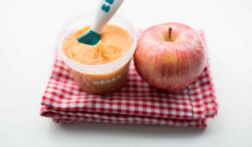 Pure de Manzana y Camote