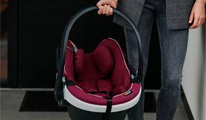 ¿Cuál es la manera correcta de usar la silla de auto para bebé?