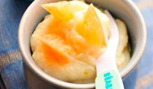 Papilla de Mango y Miel