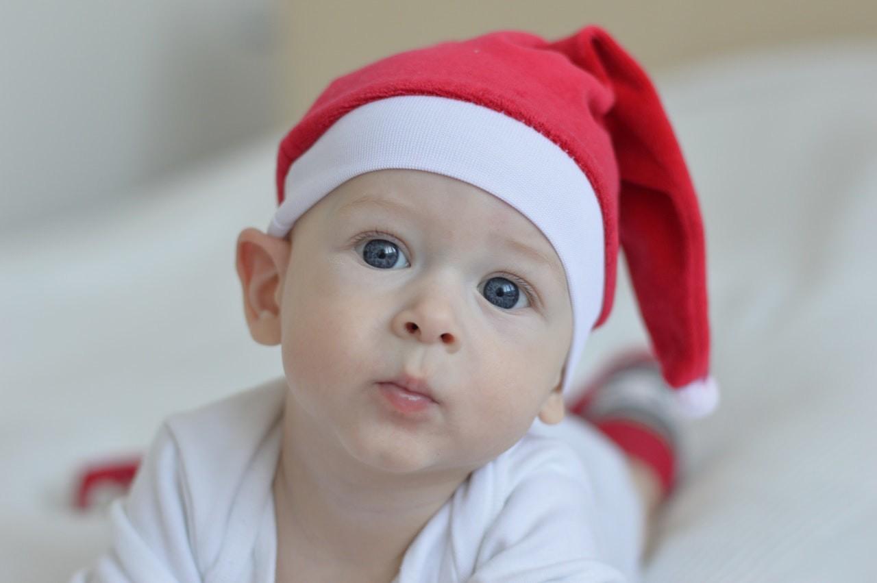 Cinco características de los bebés nacidos en diciembre