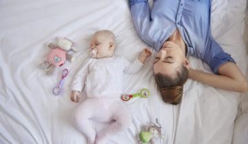 El sueño de la mamá tras el nacimiento del bebé
