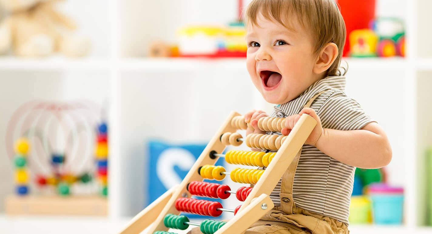 Que los niños sean niños: ¡estimula las habilidades del bebé!