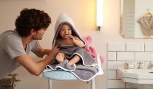 El primer baño del bebé