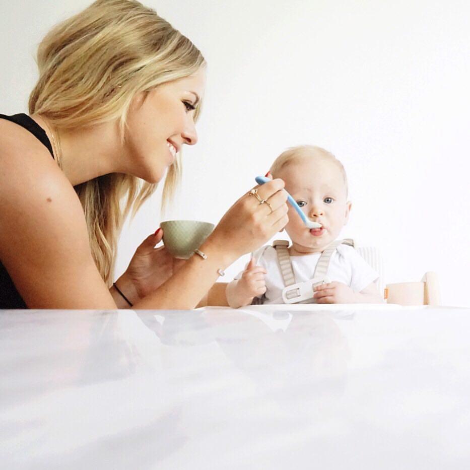 Consejos para la alimentación de tu bebé este verano