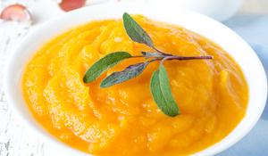 Puré de Zanahoria, Naranja y Miel