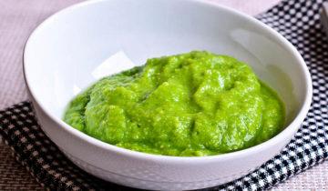 Puré de Verduras Verdes