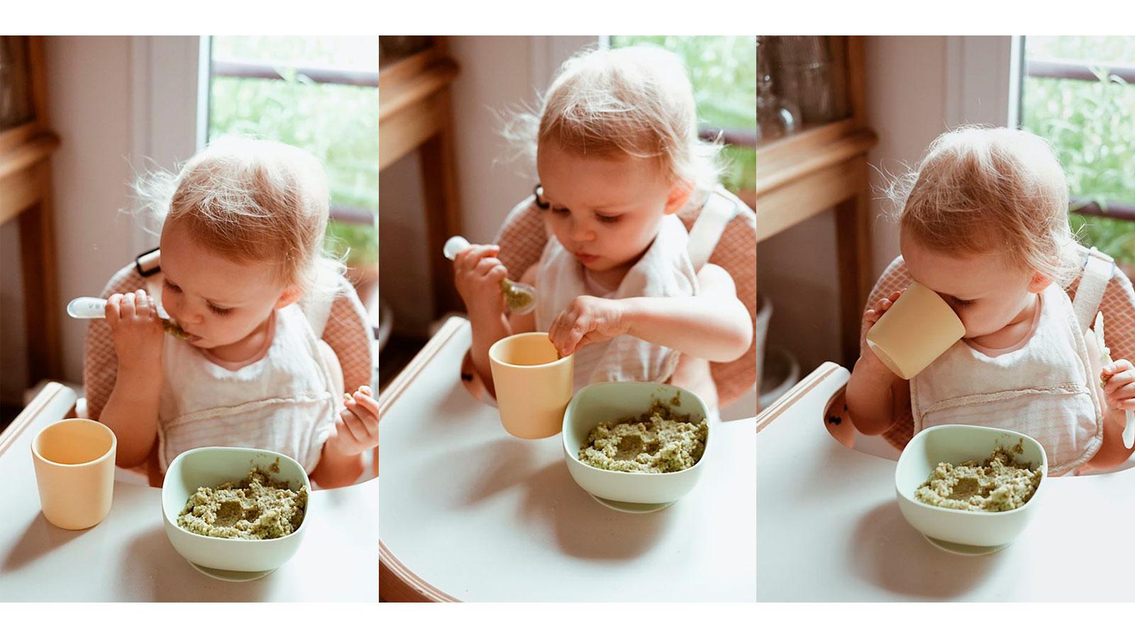 Las primeras papillas, para tu bebé