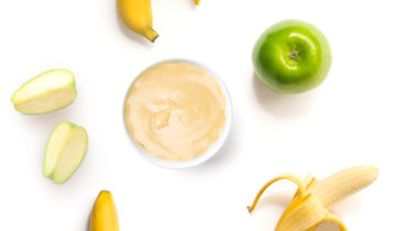 Pure de Manzana y Plátano