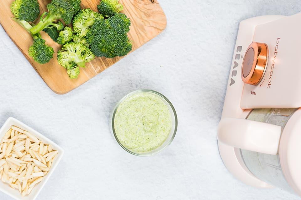 Pesto con Brócoli y Cabello de Ángel