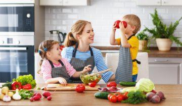 La alimentación de los niños en verano