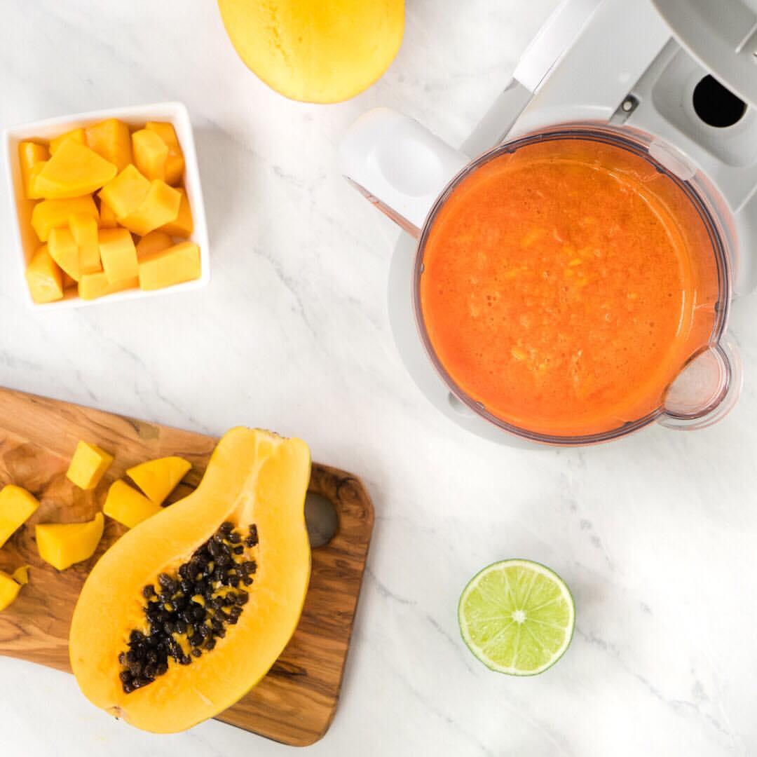 Pure de Papaya y Mango
