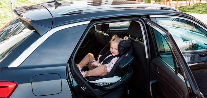 ¡El asiento de auto bidireccional más seguro!