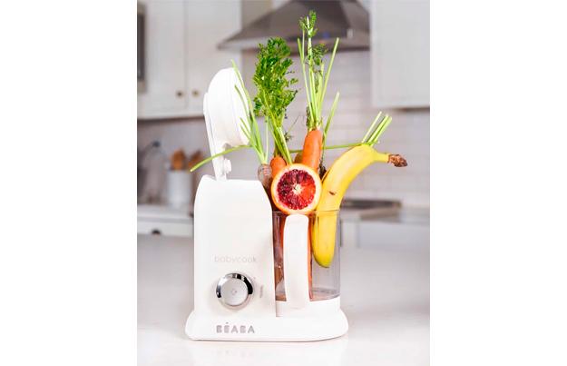 receta pure platano naranja zanahoria