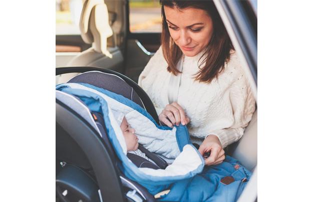forma correcta usar silla bebe