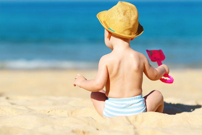 Diez consejos para los bebés en verano