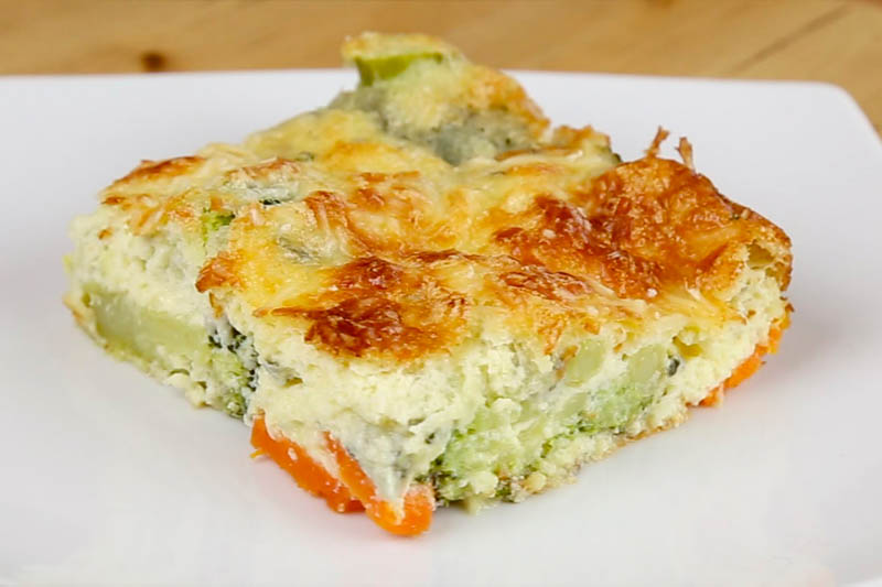 receta pastel verduras
