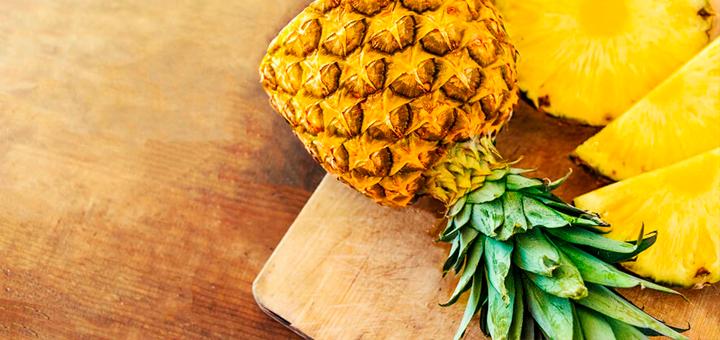Papilla de Piña y Plátano