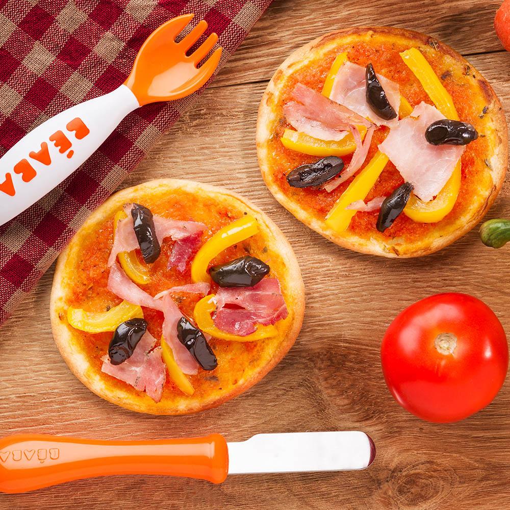 receta pizza familia