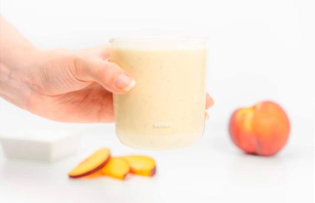 pure durazno yogurt griego