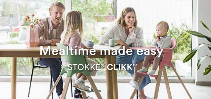 Conoce la silla de comer Clikk de Stokke