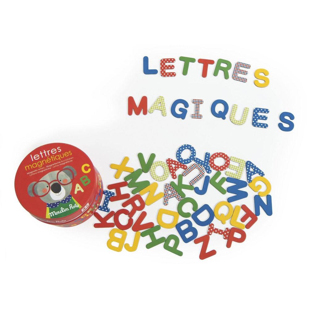 LETRAS MAGNÉTICAS DE CARTÓN COLECCIÓN LES POPIPOP