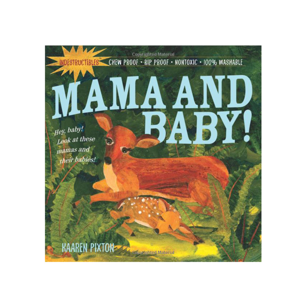 LIBRO - INDESTRUCTIBLES MAMA AND BABY