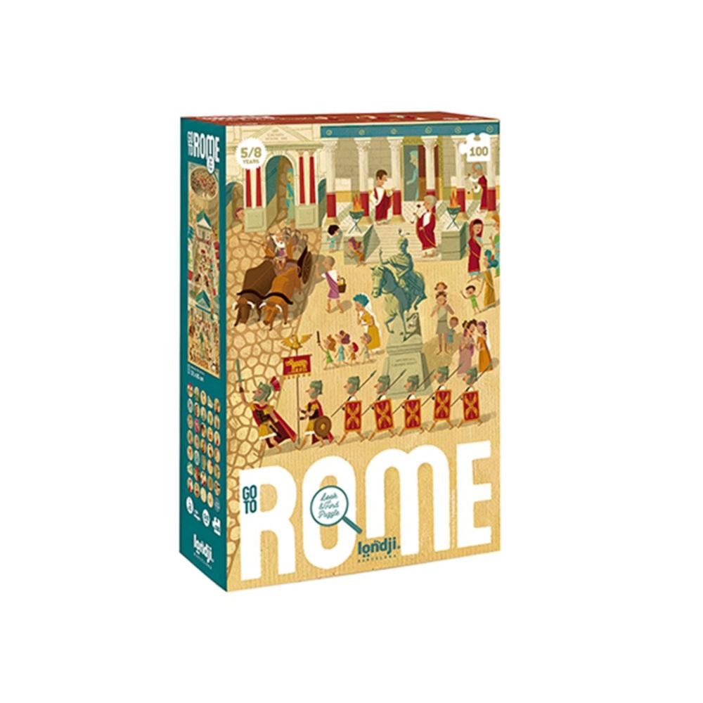 ROMPECABEZA GO TO ROME DE 100 PIEZAS LONDJI