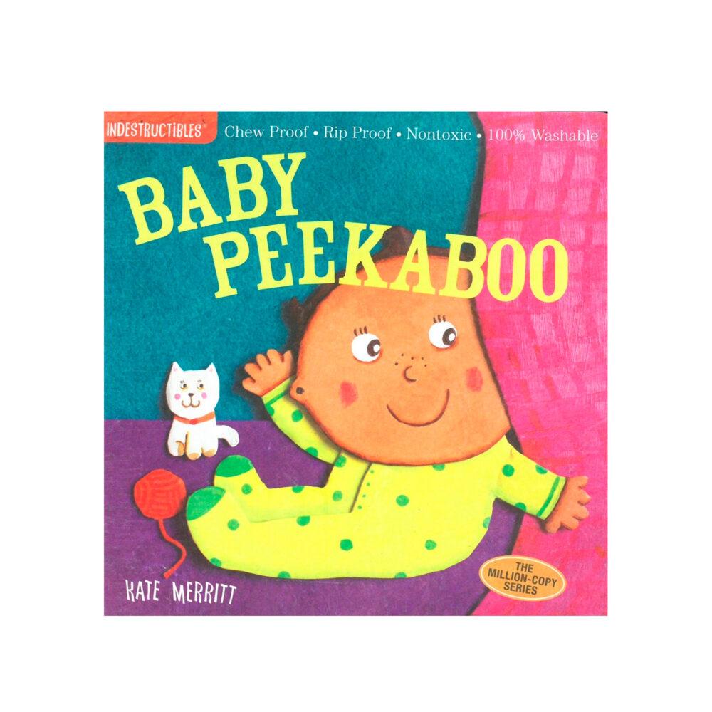 LIBRO - INDESTRUCTIBLES BABY PEEKABOO