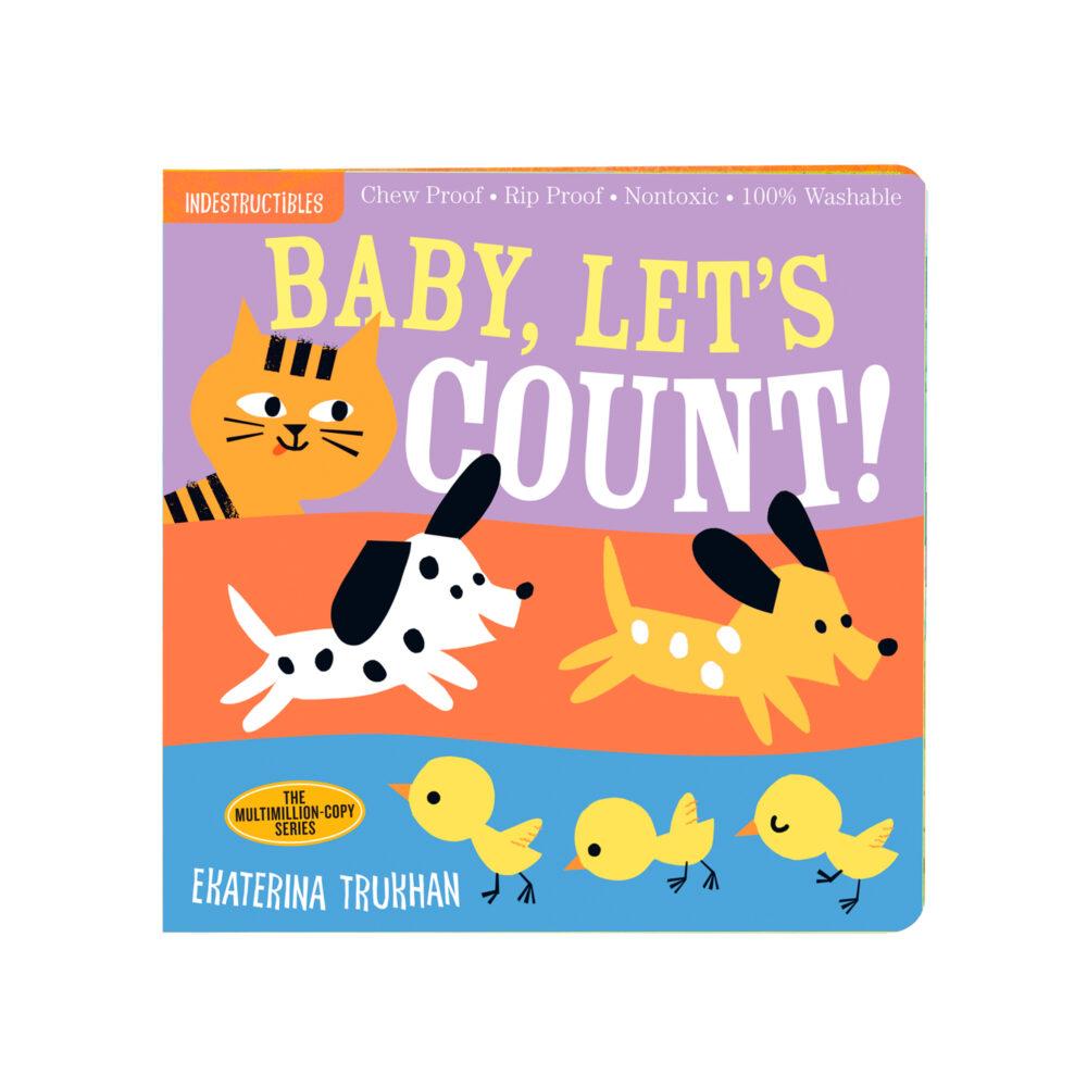 LIBRO - INDESTRUCTIBLES BABY LET´S COUNT
