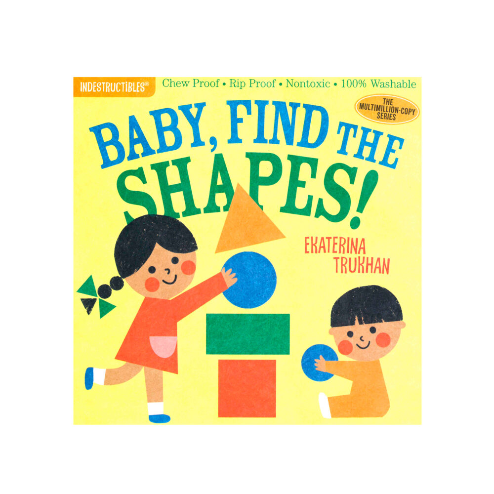 LIBRO - INDESTRUCTIBLES BABY FIND THE SHAPES