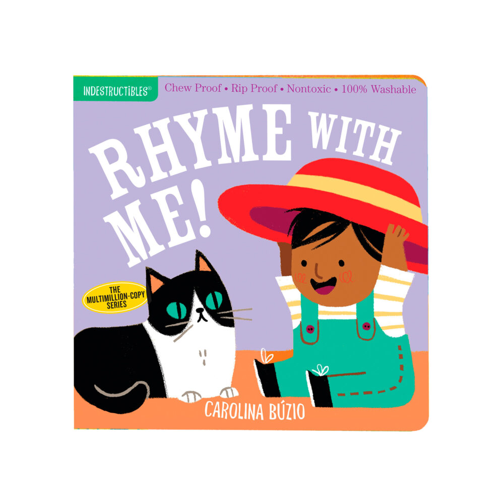 LIBRO - INDESTRUCTIBLES RHYME WITH ME